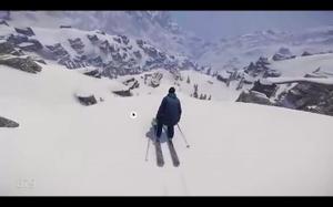 Realistyczny symulator narciarstwa
