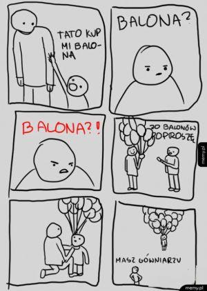 Balon dla gówniaka