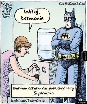 Gdyby Batman stosował metody Supermana