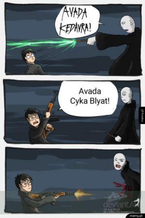 Jak powinien skończyć się Harry Potter