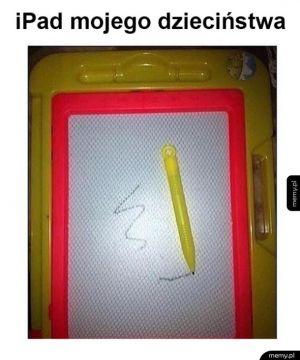 Ktoś pamięta takiego iPada