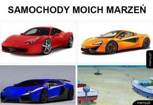 Samochody moich marzeń