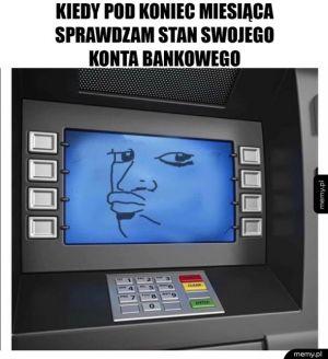 Sprawdzanie konta bankowego