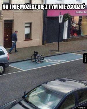 Miejsce dla inwalidów