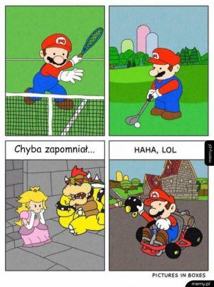 Mario ma sporo innych obowiązków