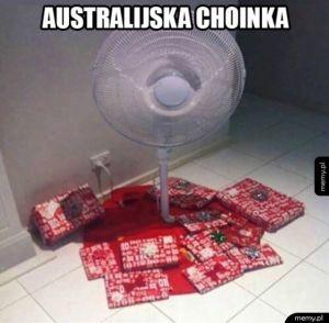 Choinka w Australii