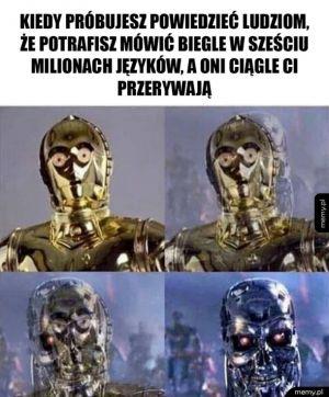 C-3PO z Gwiezdnych Wojen