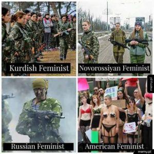 Rodzaje feministek