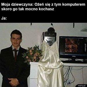 Ślub z komputerem