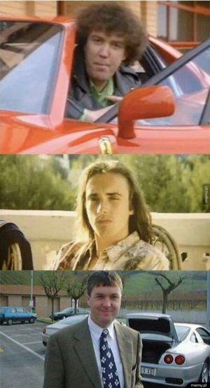 Ekipa Top Gear w młodości