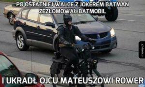 Nowy pojazd Batmana