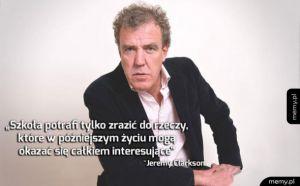 Jeremy Clarkson o szkole