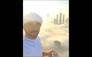 Dubaj w morzu chmur