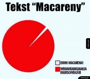 Tekst Macareny