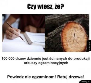 Ratuj drzewa razem z nami!