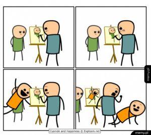 Jak zepsuć komuś portret