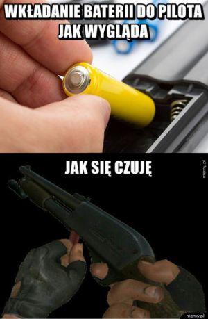 Wkładanie baterii