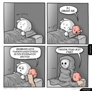 Kiedy chcesz spokojnie pójść spać