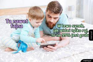 Ojciec i syn na Tinderze