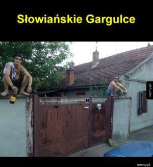 słowiańskie gargulce