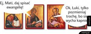 Spisywanie Ewangelii - jak było naprawdę