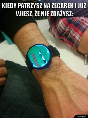 Powinienem mieć taki zegarek