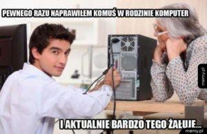 Naprawianie komputera