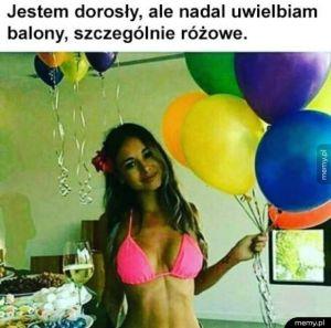 Uwielbiam balony