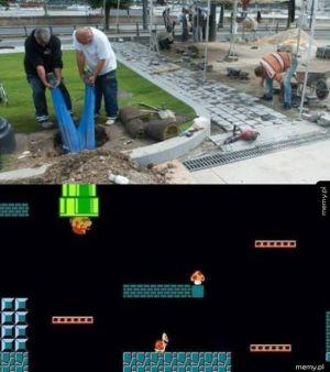 Mario w prawdziwym życiu