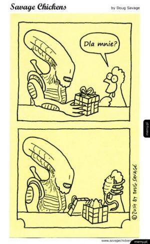 Nie bierz prezentów od Obcych