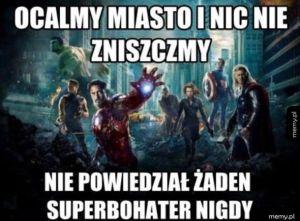 Superbohaterowie tacy są