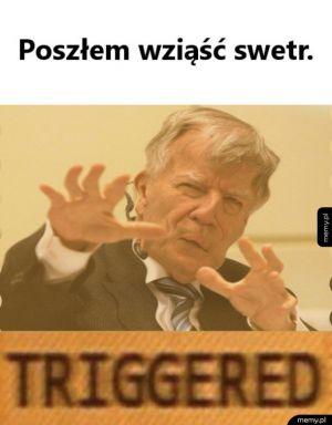 Miodek triggered