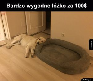 Wygodne łóżko
