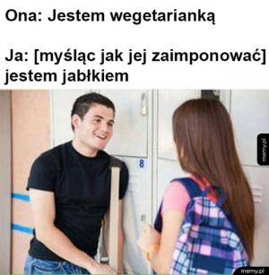 Podrywam wegetariankę