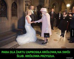 Niespodzianka na weselu