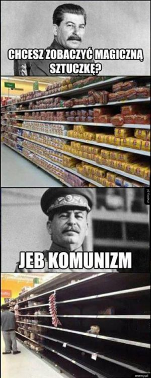 Sztuczka z komunizmem