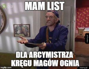 List od Magów