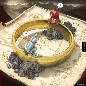 Frodo i Gollum