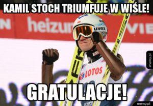 Kolejne zwycięstwo Kamila Stocha!