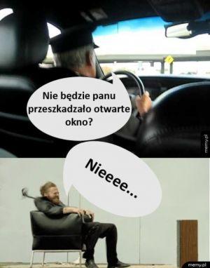 Tymczasem w taksówce