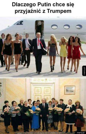 Putin chce przyjaźni