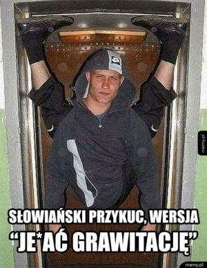 Inna wersja słowiańskiego przykucu