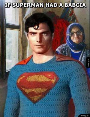 If superman had a babcia