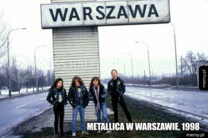 Metallica w Warszawie
