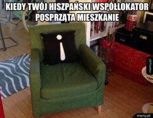 Hiszpański współlokator