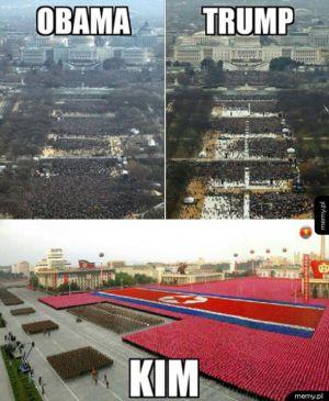 Taka różnica - Obama vs Trump vs Kim Yong Un