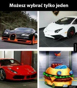 Wybierz tylko jeden