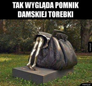 Pomnik damskiej torebki