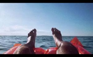 Pływanie w oceanie