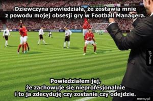 Obsesja na punkcie football managera